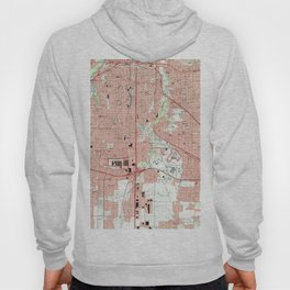 Fort Worth Texas Map (1995) Hoody