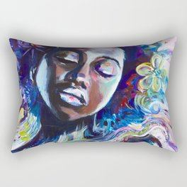 CREATED WITH INTENTION Rectangular Pillow
