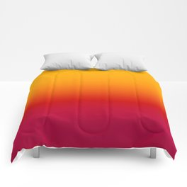 sunSET Ombre Gradient Comforters