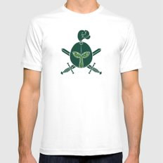 Plant Protector White MEDIUM Mens Fitted Tee