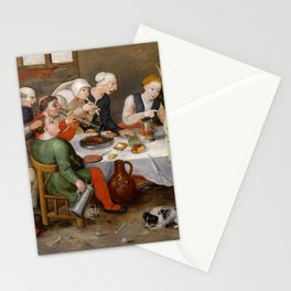 """Hieronymus Bosch """"The Bacchus Singers"""" Stationery Cards"""