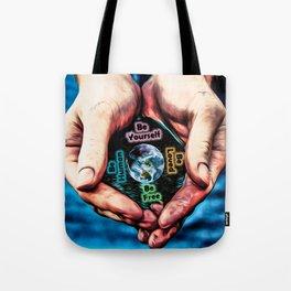 Advent Guard Earth Heart Tote Bag