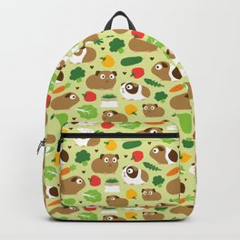 Guinea Pig And Its Treats Backpack