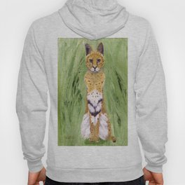 Serval Cat Hoody