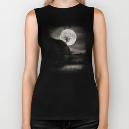 The Moon and the Tree.. Biker Tank