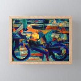 Café Racer Framed Mini Art Print