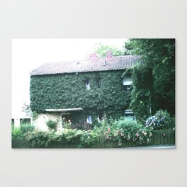 Wine maker house Canvas Print