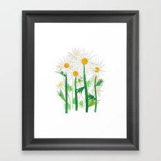 Danish Daises Framed Art Print