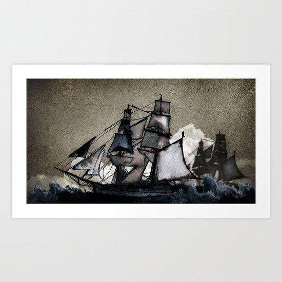 The Tightrope Art Print