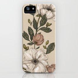 Floral Laurel iPhone Case