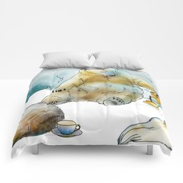 Polar Tea Party Comforters