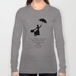 Mary Poppins - A Game Long Sleeve T-shirt