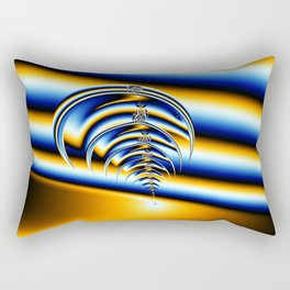 Trilobite Fractal Rectangular Pillow