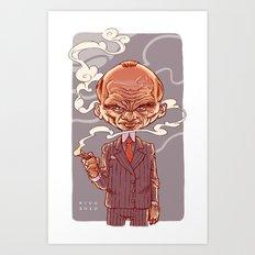 Mafioso Art Print