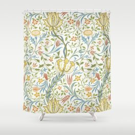 William Morris Flora Shower Curtain