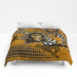 Safari sketch Comforters