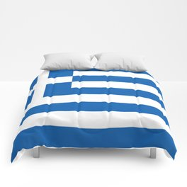 Flag of Greece Comforters