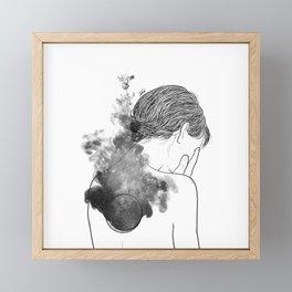 Quiet silence. Framed Mini Art Print