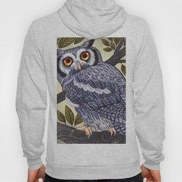 White Faced Owl Hoody