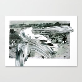 'Decline' Canvas Print