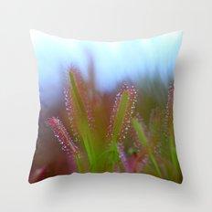 Fairy Like Sundew - JUSTART © Throw Pillow
