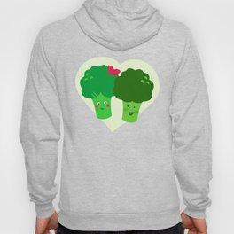 Broccoli in love Hoody