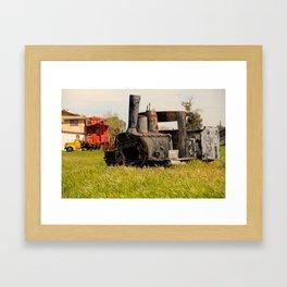 Locomotive Framed Art Print