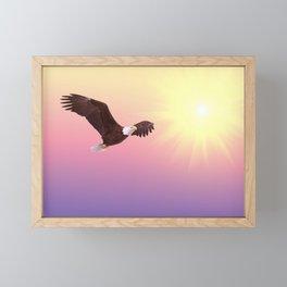 Golden Eagle Framed Mini Art Print