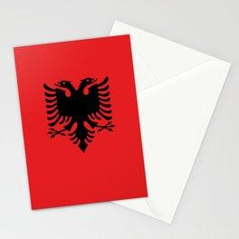 Flag of Albania - Albanian Flag Stationery Cards
