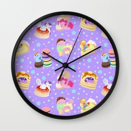 Ponies x Sweets Wall Clock