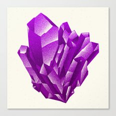Purple Formation Canvas Print