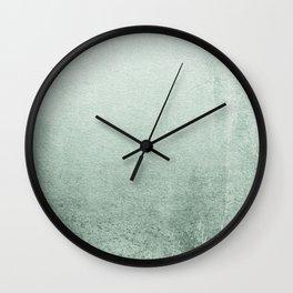 FADING GREEN EUCALYPTUS Wall Clock