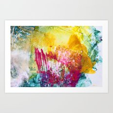 Fireworks - JUSTART Art Print