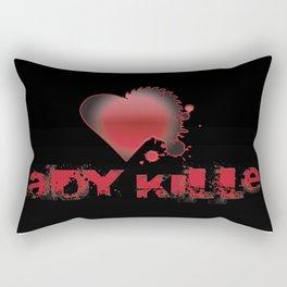 Lady Killer Rectangular Pillow