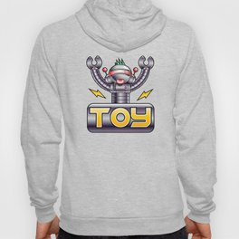 eletric robot toy Hoody