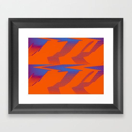Digital Died/TigerPower Framed Art Print