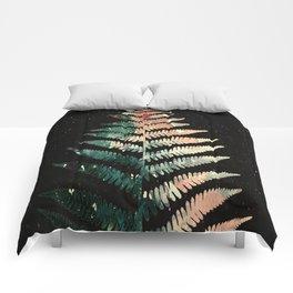 Watercolour Fern Leaf Comforters