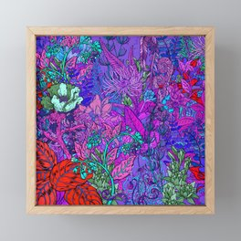 Electric Garden Framed Mini Art Print