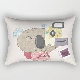 Koala Camera Rectangular Pillow