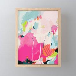 pink sky II Framed Mini Art Print