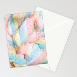 Pastel Marshmallows Painting Stationery Cards