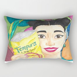 Tempura Snacks Rectangular Pillow