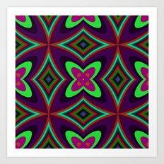 Kaleidoscope 1 Art Print