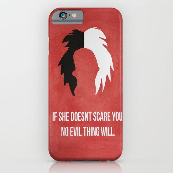 Disney Villain - Cruella De Vil iPhone & iPod Case