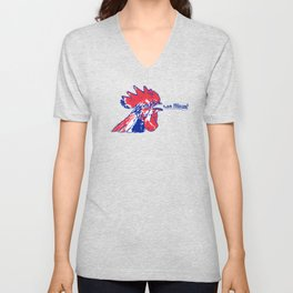 France Les Blues (The Blues) ~Group C~ Unisex V-Neck