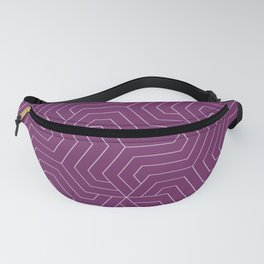 Byzantium - violet - Modern Vector Seamless Pattern Fanny Pack