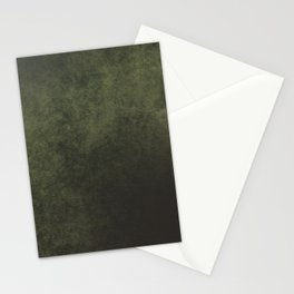 Old dark green Stationery Cards