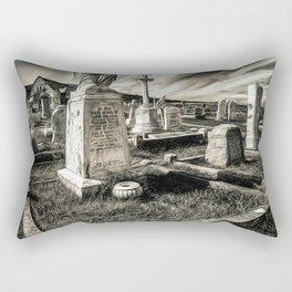 Great Orme Graveyard Rectangular Pillow