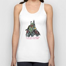 clones of a loser, that's why the empire lost Unisex Tank Top