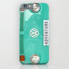 Adventure wolkswagen. Summer dreams. Green Slim Case iPhone 6
